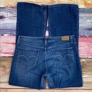 Levi's 518 Superlow 5 Pocket Bootcut Jeans